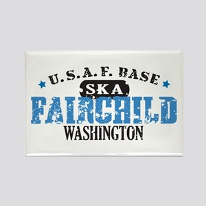 Fairchild Air Force Base Rectangle Magnet