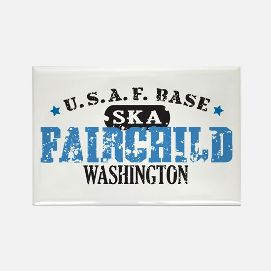 Fairchild Air Force Base Rectangle Magnet