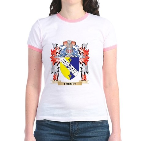 Trusty Coat of Arms - Family Crest T-Shirt