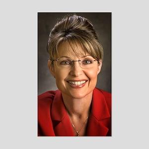 Palin Portrait Rectangle Sticker