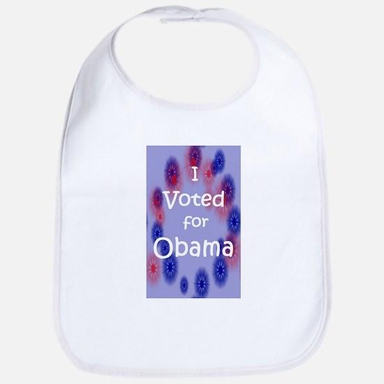 I Voted for Obama Bib