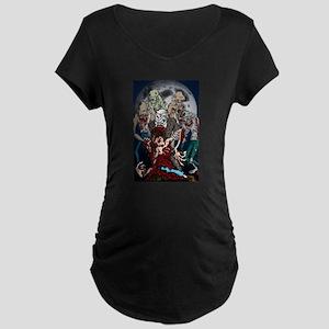 zombie moon Maternity T-Shirt
