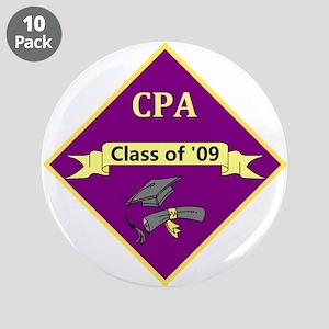 """CPA Graduate 3.5"""" Button (10 pack)"""