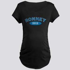 Romney 2012 Maternity Dark T-Shirt
