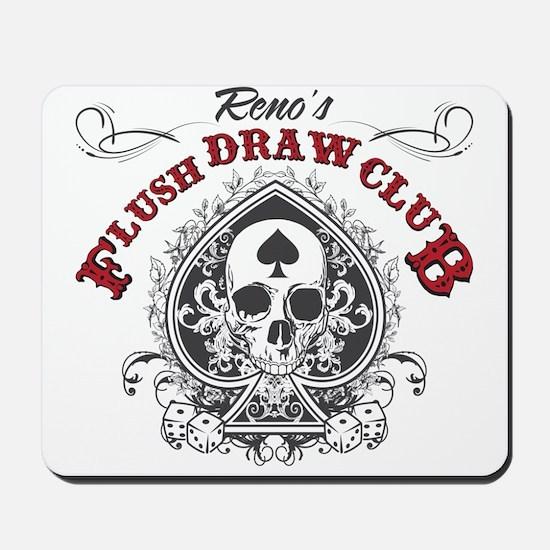 Flush Draw Club Mousepad