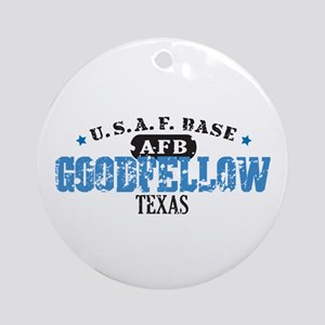 Goodfellow Air Force Base Ornament (Round)