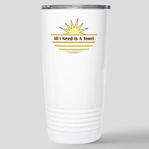 Need Towel - Stainless Steel Travel Mug