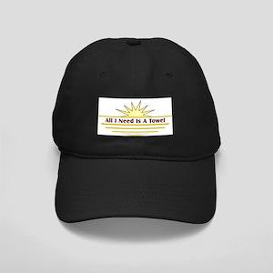 Need Towel - Black Cap