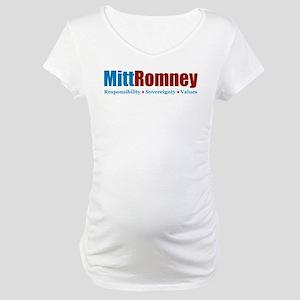Mitt Romney Maternity T-Shirt