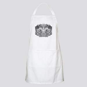 Maori Tatto-black & white BBQ Apron