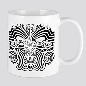Maori Tatto-black & white Mug
