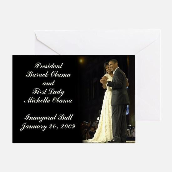 Obama Inaugural Dance Greeting Card