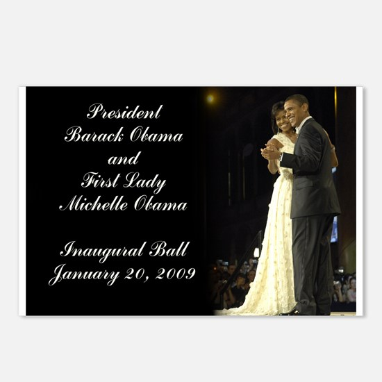 Obama Inaugural Dance Postcards (Package of 8)