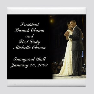 Obama Inaugural Dance Tile Coaster