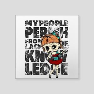 My People Perish Sticker