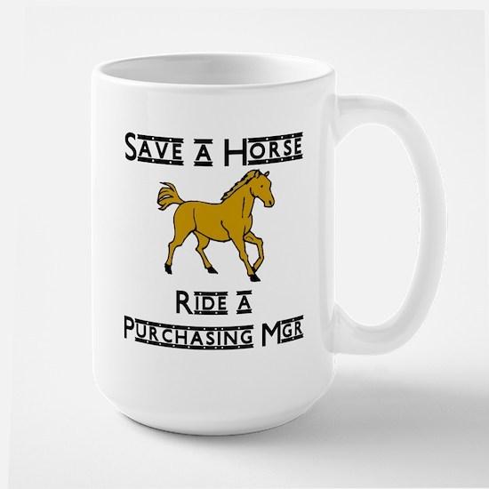 Purchasing Mgr Large Mug