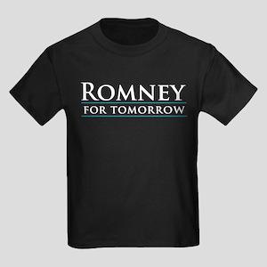 Romney for Tomorrow Kids Dark T-Shirt