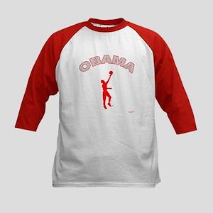 D-Lip Obama3 Kids Baseball Jersey