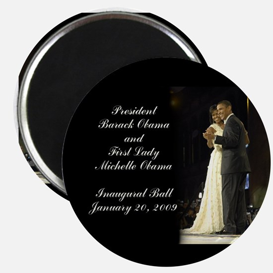 Obama Inaugural Dance Magnet