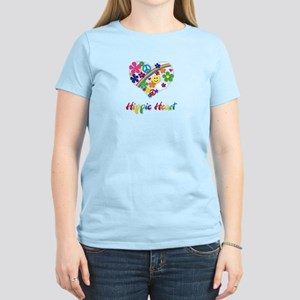 Hippie Heart Women's Light T-Shirt