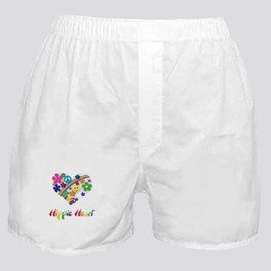 Hippie Heart Boxer Shorts