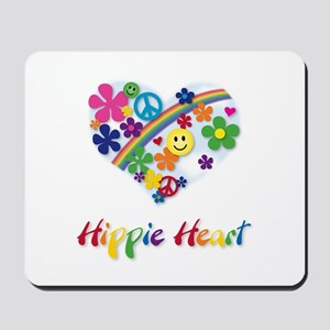 Hippie Heart Mousepad