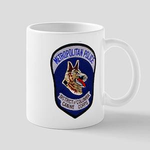DC Police K9 Corps Mug