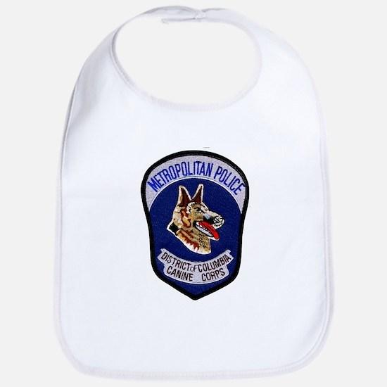 DC Police K9 Corps Bib
