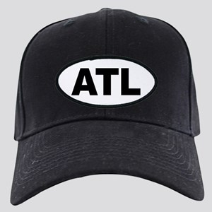 f55d0f8db0f Atlanta Black Cap With Patch - CafePress