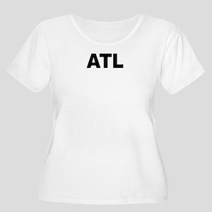 ATL (ATLANTA) Women's Plus Size Scoop Neck T-Shirt