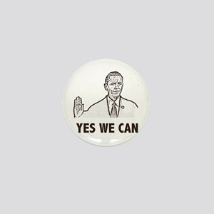 Obama Yes We Can Mini Button