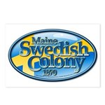 Maine Swedish Colony Postcards (Package of 8)