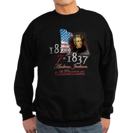 7th President - Sweatshirt (dark)
