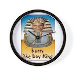 Barry The Boy King Wall Clock