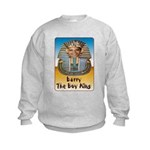 Barry The Boy King Kids Sweatshirt