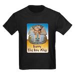 Barry The Boy King Kids Dark T-Shirt