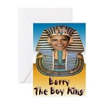 Barry The Boy King Greeting Card