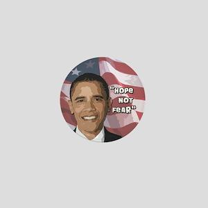 Obama Hope not Fear Mini Button