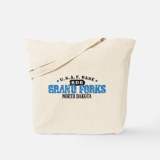 Grand Forks Air Force Base Tote Bag