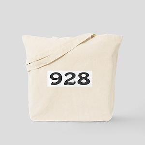 928 Area Code Tote Bag