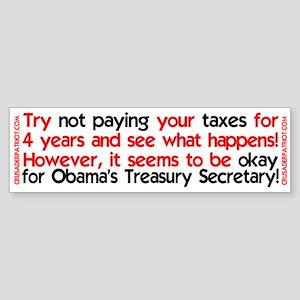 Don't pay your taxes, become treasury secretary