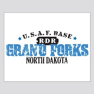 Grand Forks Air Force Base Small Poster