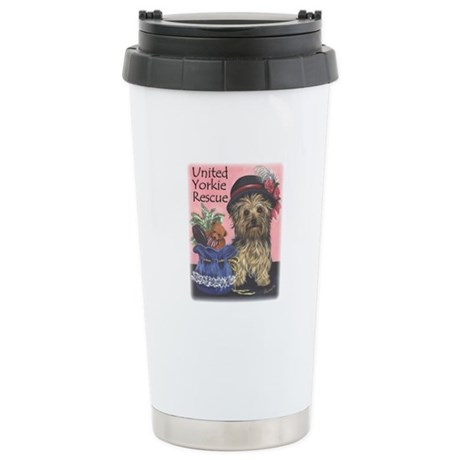 United Yorkie Rescue Stainless Steel Travel Mug