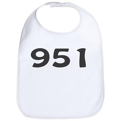 951 Area Code Bib