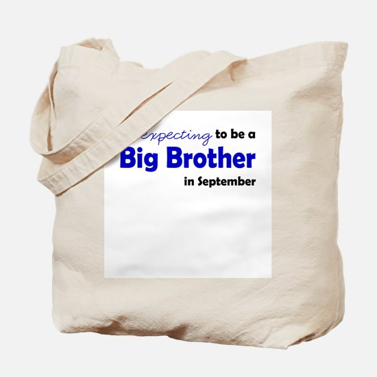 """""""Expecting"""" Big Brother Septe Tote Bag"""