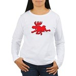 Red Moose Running Women's Long Sleeve T-Shirt