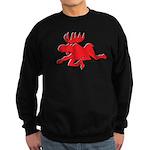 Red Moose Running Sweatshirt (dark)