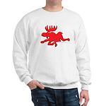 Red Moose Running Sweatshirt