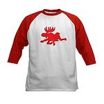 Red Moose Running Kids Baseball Jersey
