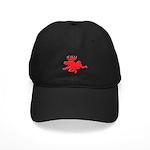 Red Moose Running Black Cap